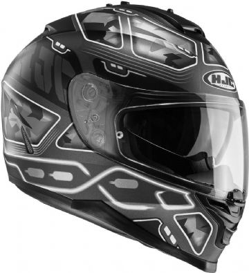 HJC IS-17 Uruk Black MC5SF Motorcycle Helmet Small, Large, X Large
